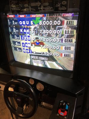 Arcade taxi driving game for Sale in Plainville, CT