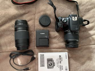 Canon EOS Rebel t6 Kit w/ 2 Lenses for Sale in Cicero,  IL