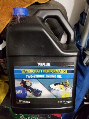 Yamaha Yamalube two stroke oil for Sale in Miramar, FL