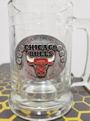 Chicago Bulls Six Time Champion Mug for Sale in Davenport, IA