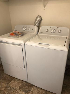 GE HOTPOINT WASHER AND DRYER BRAND NEW STILL IN BOX for Sale in Seattle, WA