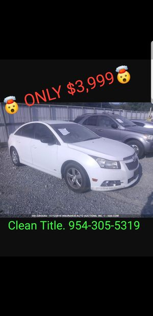2011 Chevy Cruze $3,999.99 Cash & Carry for Sale in Fort Lauderdale, FL