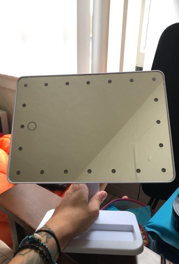 Led 180° mirror