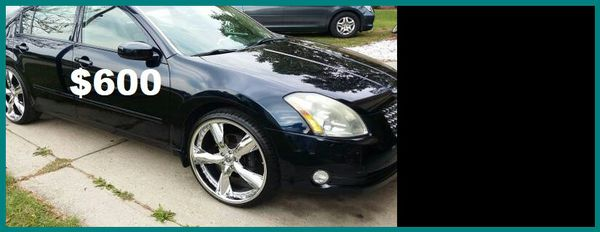2004 Nissan Maxima only$600