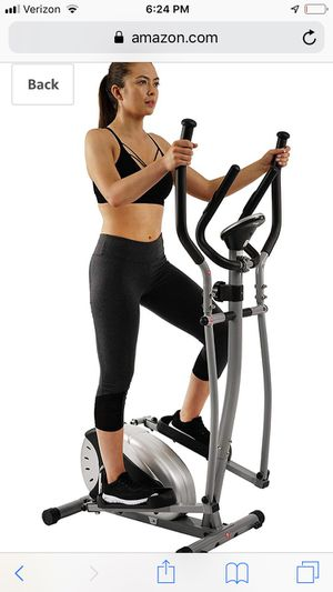 Sunny health and fitness elliptical for Sale in Providence, RI