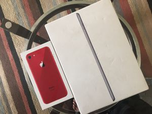 Package Deal IPhone 8 (64GB)- Apple IPad 6th Gen (34GB) for Sale in Charlotte, NC