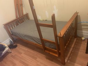 Twin size bunk bed new for Sale in Howard Beach, NY