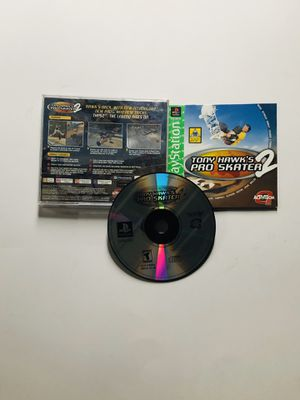 Tony Hawks Pro Skater 2 PlayStation 1 ps1 for Sale in Long Beach, CA