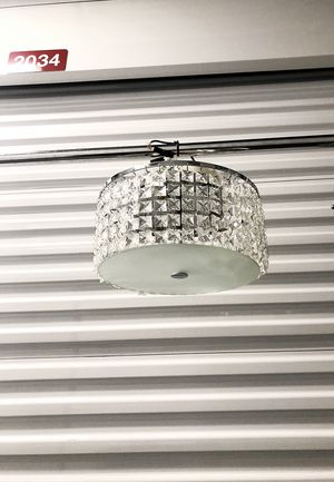 light fixture never used! excellent condition was going to be used for staging a property for an Interior design project I originally paid $80. for Sale in Washington, DC