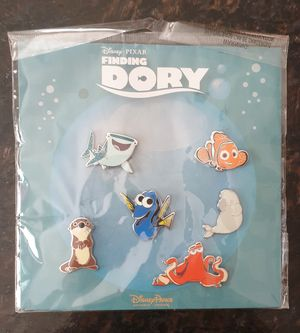 Disney finding dory nemo trading pins. 6 disney trading pins. for Sale in Los Angeles, CA