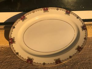 Antique Glass Platter Meito China for Sale in St. Petersburg, FL