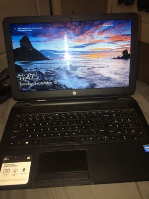 HP 15.6' Notebook / Laptop for Sale in Goodyear, AZ
