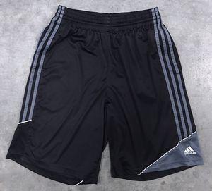 ADIDAS 3-Stripe Black/Lead Athletic Basketball Shorts - M for Sale in Chandler, AZ