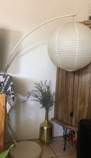 Paper lantern floor lamp for Sale in San Diego, CA