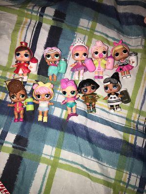 Lol surprise dolls - 10 random dolls for Sale in Silver Spring, MD