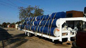 55gal metal barrels food grade $ 12 for Sale in Sanger, CA