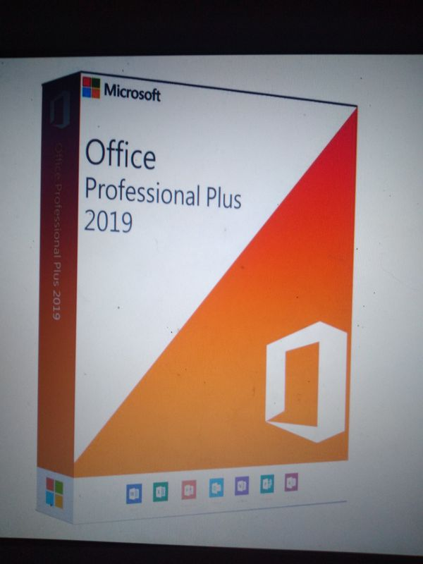 Microsoft Office professional plus 2019 digital key