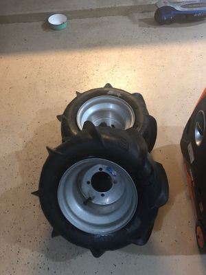 Sandstar ITP paddles AT20X11-9R New sand tires ITP Sand Star Rear Tires 20x11-10R for Sale in El Monte, CA