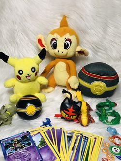 Pokemon Plush Toys Pokemon Card Toy Lot for Sale in Largo,  FL