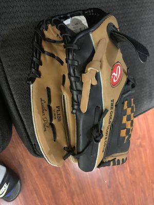 """Rawlings Players Series PL120 12"""" Baseball Glove RHT Adj. Strap Leather Palm wFS for Sale in Long Beach, CA"""