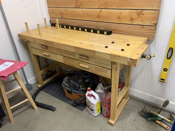 Workbench and stool