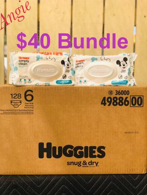 Huggies snug dry size 6 bundle for Sale in Bellflower, CA