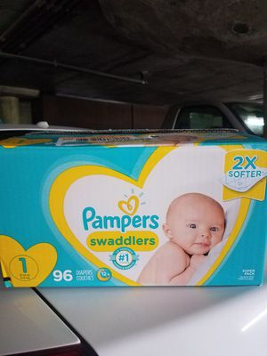 Diapers Size 1 for Sale in Long Beach, CA