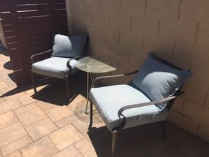 2 patio/outside chairs OBO for Sale in Las Vegas, NV