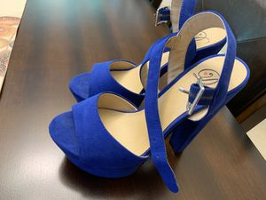 Blue shoes size 6 for Sale in Houston, TX