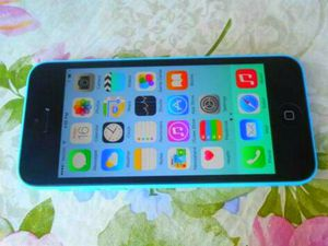 New Apple iPhone 5c Blue T-Mobile/MetroPCS Phone for Sale in Glendale, AZ