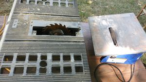 Table saw and tile saw for Sale in Detroit, MI