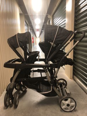 Graco Ready2Grow LX Double Stroller for Sale in Newport News, VA