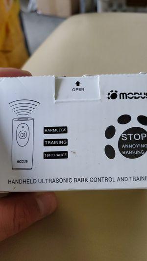 Modus Hanheld Ultrasonic Bark Control and Training for Sale in Gwinnett Village, GA