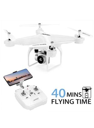 Drone with 720P HD Camera Live Video FPV Quadcopter with Headless Mode, with 2 Batteries(20Mins + 20Mins) for Sale in Lilburn, GA