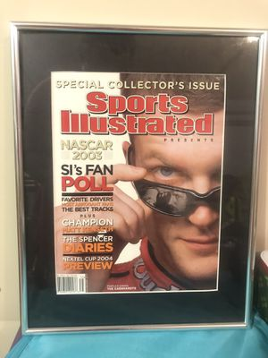 """NASCAR Sports illustrated magazines framed - (4) Dale Earnhardt glass front 18""""x24"""" for Sale in Indianapolis, IN"""