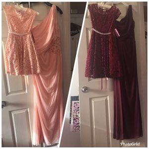 Flower girl and bridesmaid dresses for Sale in Lemon Grove, CA