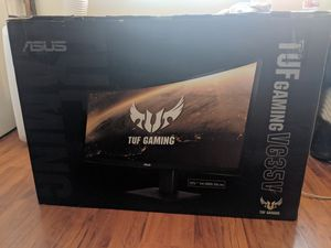 """NEW Asus TUF Gaming VG35VQ 35"""" Curved HDR Monitor 100Hz UWQHD (3440 x 1440) 1ms FreeSync Eye Care DisplayPort HDMI USB HDR10 for Sale in Anaheim, CA"""