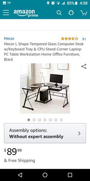 Computer desk for Sale in Midlothian, IL
