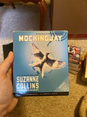 Suzanne Collin's Mockingjay AUDIOBOOK on CDs for Sale in Burlington, CT