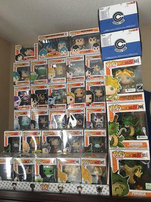 Dragonball z pops for Sale in Sacramento, CA