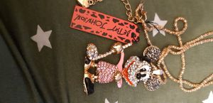 BN MICKEY BETSEY JOHNSON NECKLACE for Sale in Wheat Ridge, CO