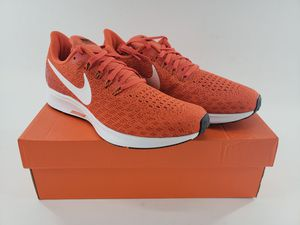 Nike Women's Air Zoom Pegasus 35 Running Shoes Orange White AO3906-801 NEW for Sale in Maywood, CA