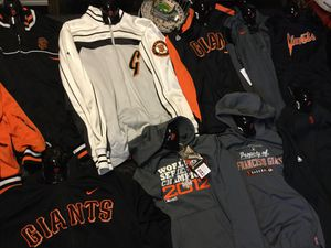 San Francisco giants nike and majestic for Sale in San Jose, CA