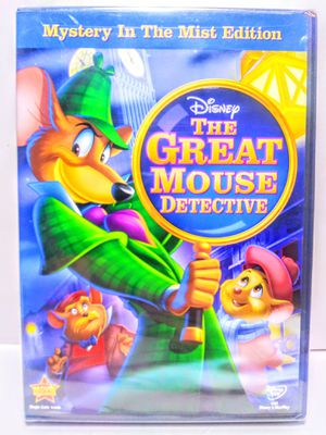 The Great Mouse Detective DVD Movie for Sale in Garland, TX