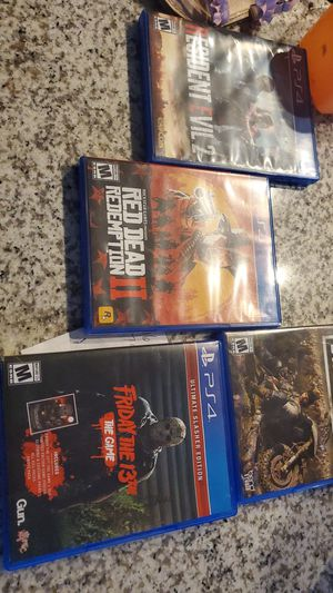 All ps4 games for 95$ for Sale in Mansfield, TX