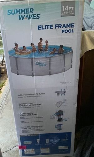 Summer wave 14 feet metal frame pool for Sale in Beaverton, OR