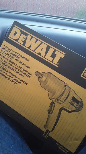 Dewalt impact wrench for Sale in Hayward, CA