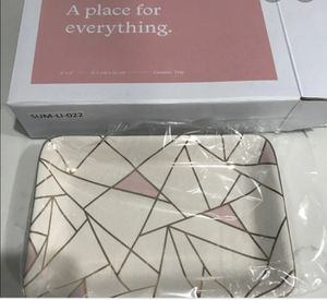 Free ceramic plate for jewelry & makeup & decor... Still in box for Sale in La Habra Heights, CA