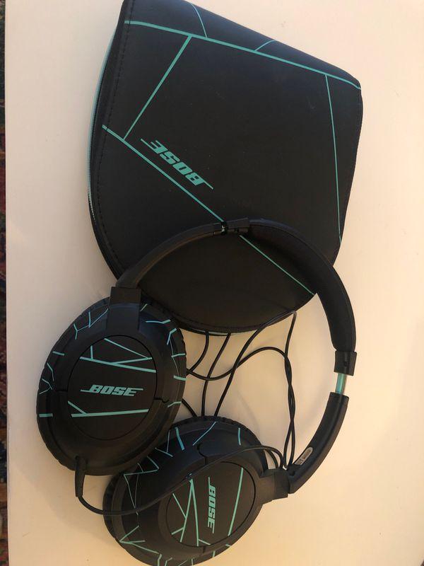 Bose Soundtrue on-ear - Black/Mint