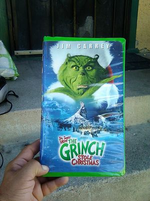 Vhs Grinch for Sale in Long Beach, CA